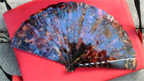 Antique spanish style fan